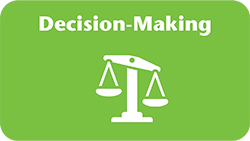 Illustration representing decision-making