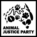 Animal Justice Party logo